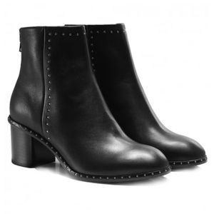 Rag and Bone Willow Black Leather Boot 37.5